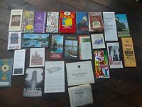 Vintage France Maps, Travel Brochures Etc 25 Pieces
