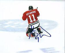 Autographed 8x10 ANDREW DESJARDINS Chicago Blackhawks photo - w/COA
