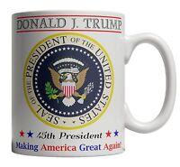 Donald Trump Coffee Mug Cup 45th President Inauguration Make America Great Again