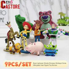 Buzz Lightyear Woody Dinosaur Bullseye Horse Little Green Men Figure Toy  Story