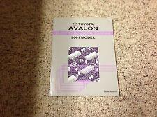 2001 Toyota Avalon Electrical Wiring Diagram Manual XL XLS 3.0L V6