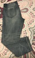Lou and Grey light wash distressed Boyfriend jeans Size 6 cotton blend CASUAL