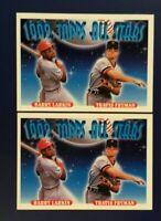 1993 Topps #404 TRAVIS FRYMAN & BARRY LARKIN All Stars Lot 2 Reds Tigers
