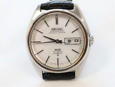 Vintage KING SEIKO Hi-Beat CHRONOMETER Automatic Men's Watch Day Date 5626-7060