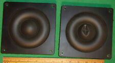(2) Advent Maestro 6-Inch Midrange Speakers 85B00013 (282Tng) Working 6 Ohm 1986