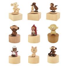 Rotierende Tier Spieluhr Spieldose Geburtstag Geschenk Musikuhr Spielzeug