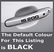 LEXUS IS 200 Door Handle Premium Mirror Decals Stickers x 4