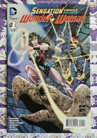 Sensation Comics Wonder Woman #1- Gail Simone - Cat Staggs - 100% to Charity NM
