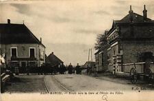 SAINT MARCEL - Route vers la Gare et l'Ecole des Filles