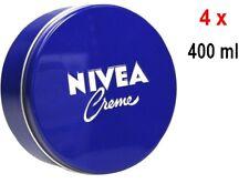 Nivea Creme - Blaue Dose - für jeden Hauttyp - 4er Pack (4 x 400 ml)