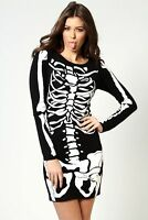 New Halloween Dress Costume Fancy Ladies Women's Adult Outfit Bodycon Top 8-26