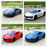 Acura NSX 1:32 Scale Diecast Alloy Sound&Light Vehicle Car Model Kids Toy Gift
