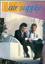 The Best Of Air Supply song book sheet music Every Woman In The World Here I Am