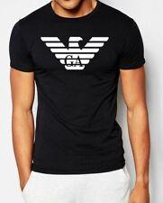 Emporio Armani Mens Black T shirt Big Eagle Slim fit size M*L*XL