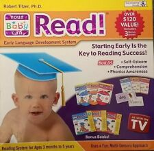 Your Baby Can Read Volumes 1, 2, & 3 Dvd's, Cards & Books Developement System
