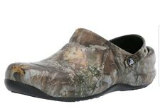 Crocs Camouflage Bistro Realtree Edge Clog Mens size 7, Womens size 9 NWT