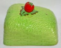 Vintage Beswick Lettice & Tomato Cheese / Butter Dish - Lid Only