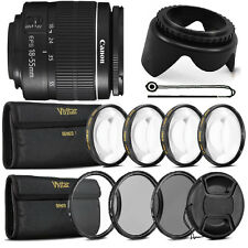 Canon EF-S 18-55mm f/3.5-5.6 III Lens with Top Filter Set For Canon 1300D 1200D