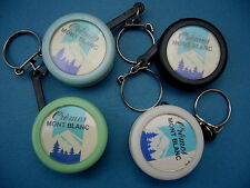 Porte-clés-Keychain-Portachiavi-LOT 4 PC YOYOS Crème MONT-BLANC-Différents