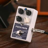 ammoon POCKVERB Reverb & Delay Guitar Effect Pedal True Bypass 7 Reverb Effects