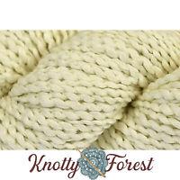 Cotton Supreme Sapling Universal Yarn  ECRU Vegan Cotton Bulky 109y 100g Cream