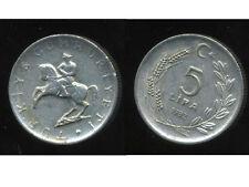 TURQUIE   5 lira 1982  ( bis )