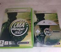 LMA Manager 2007 XBOX 360 PAL UK Complete CIB