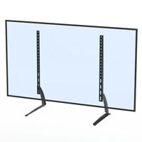 "TV Mount Simple Wall Mount 40-65"" Bracket LCD Screen TV Stand Table Top Black"