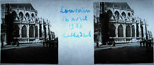 Photographie Louvain Leuven ville néerlandophone de Belgique Cathédrale Avr 1933