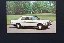 Mercedes Owners postcard brochure 250 c original w114