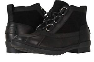 UGG Heather Black All Weather Waterproof Rain Boot Women's US sizes 5-11/NEW!!