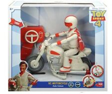 Toy Story 4 RC Motorcycle Duke Caboom Playset NEW