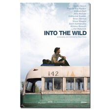 Into the Wild Movie Poster Canvas Painting Wall Art Picture Home Decor 24X36inch