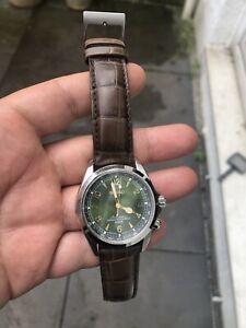 Seiko Alpinist Green Men's Watch - SARB017 Excellent Condition