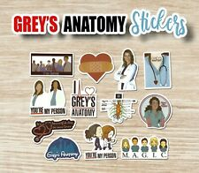 Greys Anatomy 12 Stickers (B) You'Re My Person M.A.G.I.C. ~ Laptop Vinyl Decals