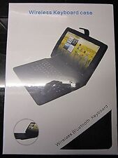 Bluetooth Keyboard Carry Case/Stand for Packard Bell Liberty TAB G100W G100