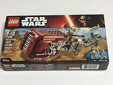 Lego Star Wars 75099 Rey's Speeder Bike Building Kit New in Sealed Box 193 Pcs