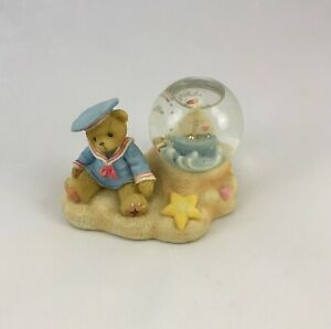 CHERISHED TEDDIES - August Glitterkugel - H: ca. 7 cm - 979228 Sammlerfiguren