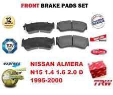 Pour Nissan Almera N15 1.4 1.6 2.0 D 1995-2000 Essieu avant Plaquettes de Frein