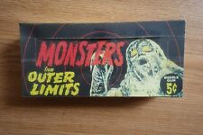 2000 Monsters from the Outer Limits Bubble Gum Card Box Reproduction