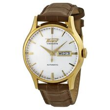 TISSOT Heritage Visodate Men's Watch Gold Case White Dial 40mm T0194303603101