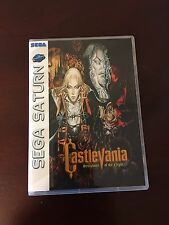 Castlevania Symphony Of The Night (Sega Saturn) Empty Replacement  No Games