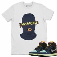 AJ 1 Retro OG Bio Hack Sneaker Matching Tees and Outfit Warning T Shirt
