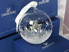 SWAROVSKI CHRISTMAS BALL ORNAMENT 2014 MIB #5059023