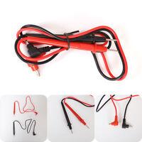 2Pcs/1Set Multimeter Test Lead Pen Probe Wire Cable Needle Tip Home Garden