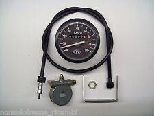 Kit CEV Contachilometri+Corda+Rinvio per ciclomotori anni 70/80/90 scala 80 km/h