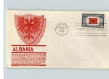 """ALBANIA, Overrun Country in World War II, """"Invaded by Axis Troops in 1939"""" FDC"""