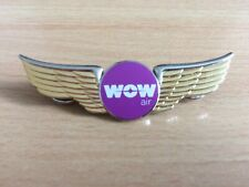 WOW airCabin and Flight Crew Wings (First Edition)