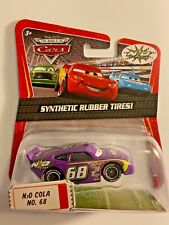 Disney Pixar World of Cars N20 Cola No. 68 Synthetic Rubber Tires Diecast