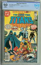 New Teen Titans # 2  CBCS 9.0 WP 1st App. of Deathstroke